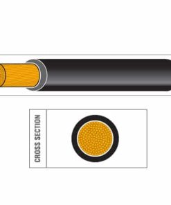 Sheathed Copper & Carbon Ignition Cable (BS6862)
