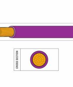 Single Core PVC Thin Wall Cable (ISO6722:2006 Class B)