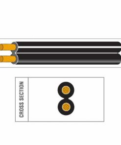Twin Core PVC Speaker Cable