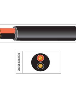 Twin Core Round PVC Cable (BS6862)
