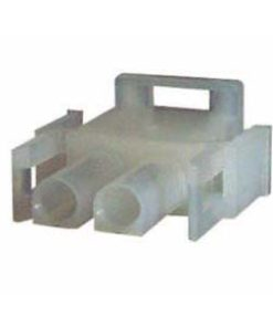 0-013-02 – Connector Mate-N-Lock Male Housing 2 way  – Qty. 5