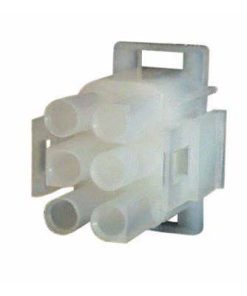0-013-04 – Connector Mate-N-Lock Male Housing 6 way  – Qty. 5