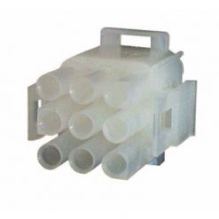 0-013-05 – Connector Mate-N-Lock Male Housing 9 way  – Qty. 5