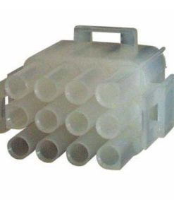 0-013-06 – Connector Mate-N-Lock Male Housing 12 way  – Qty. 5