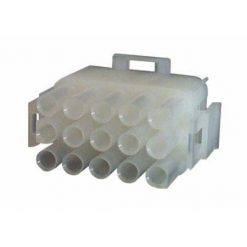 0-013-07 – Connector Mate-N-Lock Male Housing 15 way  – Qty. 5