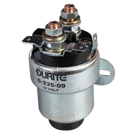 0-335-09 – Solenoid Starter Replaces 76703 with Button 12 volt – Qty. 1