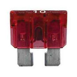 0-375-10 – Fuse Blade Type Red 10 amp  – Qty. 10