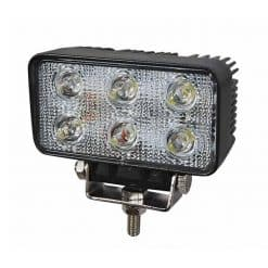 0-420-71 – Work Lamp 6 LED 12/24 volt  – Qty. 1
