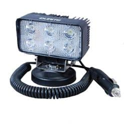 0-420-72 – Work Lamp 6 LED 12/24 volt Mag Base  – Qty. 1