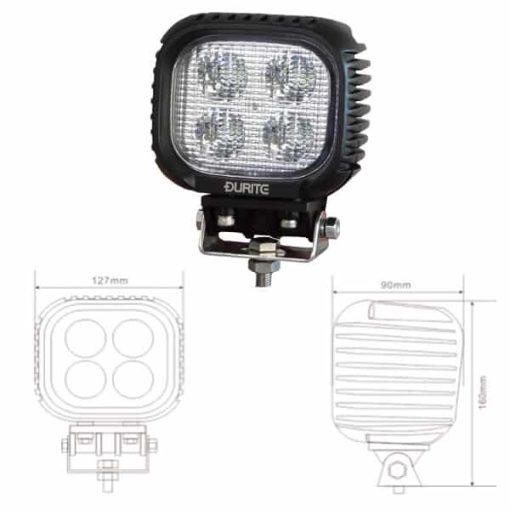 0-420-73 - Work Lamp 4 x LED 10/30V  - Qty. 1