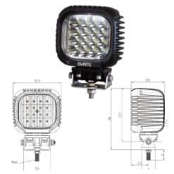 0-420-76 - Work Lamp 16 x LED 10-30V  - Qty. 1