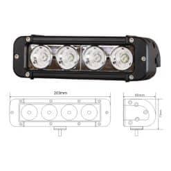 0-420-92 - Work Lamp 4 x LED 10/30 volt  - Qty. 1