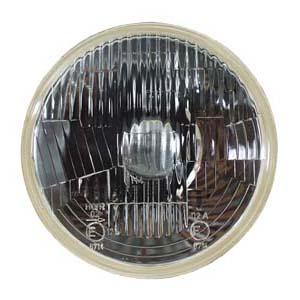 "0-422-51 – Headlamp Unit 7″"" Flat Lens with Pilot  – Qty. 1"