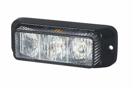 0-442-11 – R65 LED Warning Light 3 Amber 12/24volt  – Qty. 1