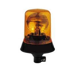 0-444-19 – Beacon Rotating 12/24 volt Amber DIN Spigot Fixing  – Qty. 1