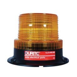 0-445-86 – Beacon Low Profile LED 11-110 volt Amber Magnetic Fixing  – Qty. 1