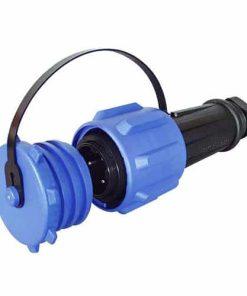0-463-26 – Plug Waterproof Heavy Duty 3 Pin Plastic 32 amp  – Qty. 1