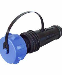 0-463-29 – Socket Waterproof Heavy Duty 3 Pole In-Line Plastic 32 amp  – Qty. 1