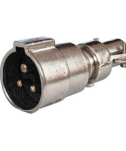 0-473-16 – Plug Waterproof Brass 3 Pin  – Qty. 1