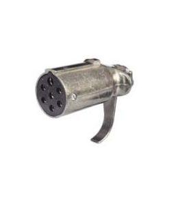 0-477-19 – Socket Trailer 7 Pole Metal 24N  – Qty. 1