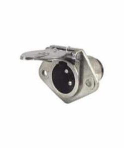 0-477-46 – Plug Trailer Heavy Duty 3 Pin Metal  – Qty. 1