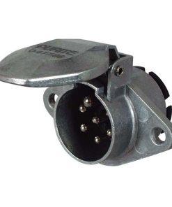 0-477-86 – Plug Trailer 7 Pin Aluminium 24N  – Qty. 1