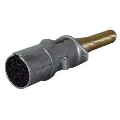 0-477-89 – Socket Trailer 7 Pole Aluminium 24N  – Qty. 1