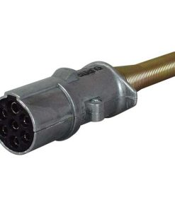 0-477-89 – Socket Trailer 7 Pole Aluminium 24N  – Qty. 1