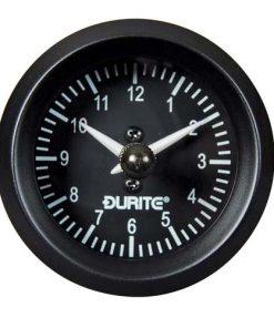 0-523-03 – Clock Quartz Gauge Illuminated 52mm 12/24 volt  – Qty. 1