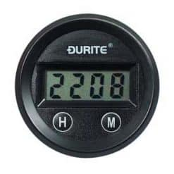 0-523-04 – Clock Gauge Illuminated Digital 52mm 12/24 volt  – Qty. 1