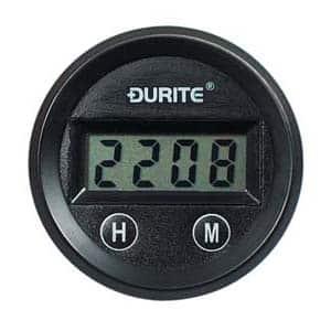 0-523-04 – Clock Gauge Illuminated Digital 52mm 12/24 volt  – Qty. 1
