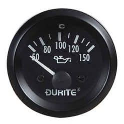 0-523-15 – Oil Temperature Gauge with Sender 52mm 12 volt  – Qty. 1