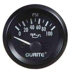 0-523-16 – Oil Pressure Gauge with Sender 52mm 12 volt  – Qty. 1