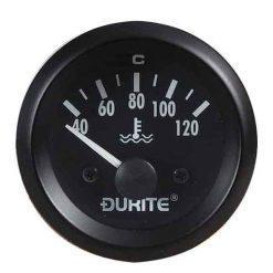 0-523-23 – Water Temperature Gauge with Sender 52mm 12 volt  – Qty. 1