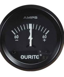 0-523-51 – Ammeter Gauge Illuminated 52mm 60-0-60 amp  – Qty. 1