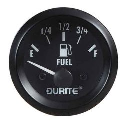 0-523-56 – Fuel Gauge Illuminated with Sender 52mm 24 volt  – Qty. 1