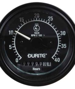 0-523-78 – Tachometer Alternator Pick-up 0-4000rpm Hour Meter 12/24 volt  – Qty. 1
