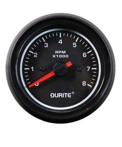 0-525-80 – Tachometer Marine LED Illuminated 0-8000rpm 85mm 12/24 volt  – Qty. 1