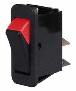0-532-01 – Switch Rocker On/Off Black/Red  – Qty. 1