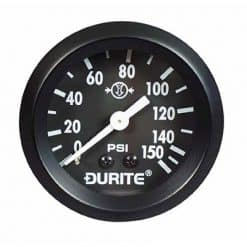 "0-533-01 – Air Pressure Gauge 52mm Mechanical with 12"" Capillary  – Qty. 1"
