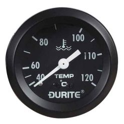 "0-533-23 – Water Temperature Gauge 52mm Mechanical with 12"" Capillary  – Qty. 1"