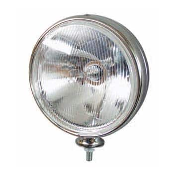 0-537-51 – Driving Lamp Commercial Round Chrome  – Qty. 1