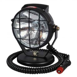 0-537-55 – Spot Lamp Black Plastic with Magnetic Base and Cable  – Qty. 1