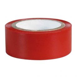 0-557-05 – Tape Adhesive PVC 19mm x 4.5 metre Red – Qty. 12