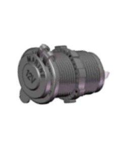 0-601-07 - Socket  DIN Power 12 volt  - Qty. 1