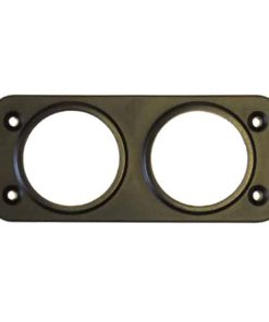 0-601-57 - Mounting Panel, Front, 2 Hole, c/w 4 Screws  - Qty. 1
