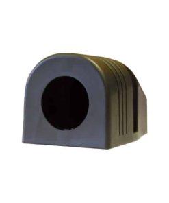 0-601-61 - Mounting Housing, 1 Hole, c/w 2 Screws  - Qty. 1