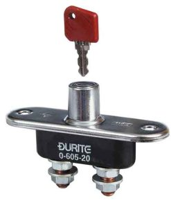 0-605-20 – Battery Switch 100 amp with Removable Key  – Qty. 1
