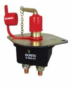 0-605-51 – Battery Switch 250 amp Double Pole with Removable Key  – Qty. 1