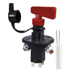 0-605-90 – Battery Switch 100 amp with Ignition Kill and Removable Key  – Qty. 1